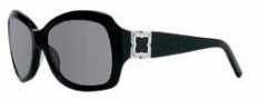 BCBG Max Azria Savvy Sunglasses Sunglasses - BLA Black / Gray Lenses