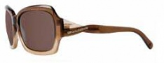 BCBG Max Azria Silk Sunglasses Sunglasses - BRO Brown Gradient / Brown Lenses
