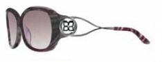 BCBG Maz Azria Stellar Sunglasses Sunglasses - PLU Plum Marble