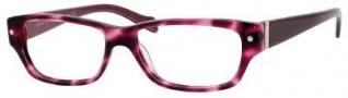 Marc By Marc Jacobs MMJ 451 Eyeglasses Eyeglasses - Havana Pink Burgundy