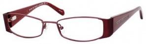 Marc By Marc Jacobs MMJ 456 Eyeglasses Eyeglasses - Burgundy Ivory