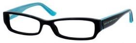 Marc By Marc Jacobs MMJ 471 Eyeglasses Eyeglasses - Black Turquoise