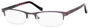 Marc By Marc Jacobs MMJ 483 Eyeglasses Eyeglasses - Dark Ruthenium Havana Fuchsia