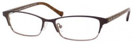 Marc By Marc Jacobs MMJ 504 Eyeglasses Eyeglasses - Brown Striped Brown