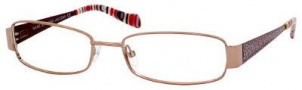 Marc By Marc Jacobs MMJ 505 Eyeglasses Eyeglasses - Red Gold Dark Red