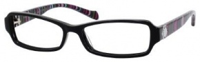 Marc By Marc Jacobs MMJ 506 Eyeglasses Eyeglasses - Black Striped Fuchsia