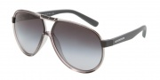 Dolce & Gabbana DG6078 Sunglasses Sunglasses - 26438G Gray Transparent / Gray Gradient