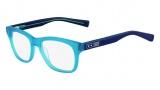 Nike 7203 Eyeglasses Eyeglasses - 441 Matte Turquoise