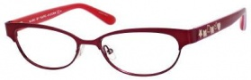 Marc By Marc Jacobs MMJ 528 Eyeglasses Eyeglasses - Red / Fuchsia Orange