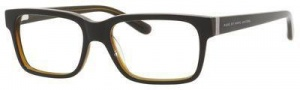 Marc By Marc Jacobs MMJ 557 Eyeglasses Eyeglasses - Black Transparent Brown