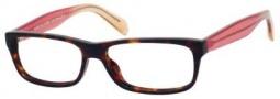 Marc By Marc Jacobs MMJ 549 Eyeglasses Eyeglasses - Dark Havana / Transparent Brown