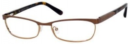 Marc By Marc Jacobs MMJ 552 Eyeglasses Eyeglasses - Matte Dark Brown Gold / Havana