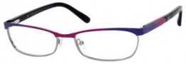 Marc By Marc Jacobs MMJ 552 Eyeglasses Eyeglasses - Rainbow Blue / Ruthenium
