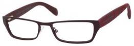 Marc By Marc Jacobs MMJ 554 Eyeglasses Eyeglasses - Matte Burgundy