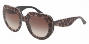 Dolce & Gabbana DG4191P Sunglasses Sunglasses - 199513 Leopard / Brown Gradient