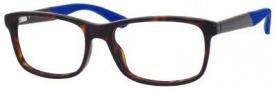 Marc By Marc Jacobs MMJ 565 Eyeglasses Eyeglasses - Havana / Rubr Matte Blue
