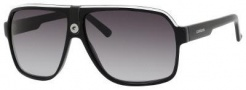 Carrera 33/S Sunglasses Sunglasses - 08V6 Black Crystal Gray (9O dark gray gradient lens)