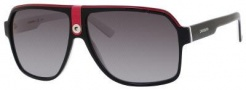 Carrera 33/S Sunglasses Sunglasses - 08V4 Black Crystal White (PT gray gradient lens)