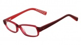 Nike 5508 Eyeglasses Eyeglasses - 610 Red Crystal / Dark Red