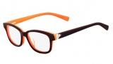 Nike 5516 Eyeglasses Eyeglasses - 614 Burgundy