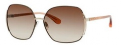 Marc By Marc Jacobs MMJ 098/S Sunglasses Sunglasses - Brown / Peach