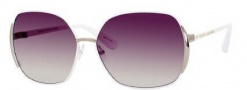 Marc By Marc Jacobs MMJ 098/S Sunglasses Sunglasses - White / Brown Gradient Lens