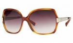 Marc By Marc Jacobs MMJ 122/S Sunglasses Sunglasses - Light Havana Brown
