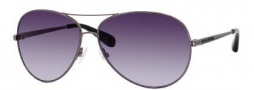 Marc By Marc Jacobs MMJ 184/S Sunglasses Sunglasses - 0KJ1 Dark Ruthenium (JJ Gray Gradient Lens)