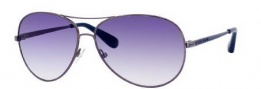 Marc By Marc Jacobs MMJ 184/S Sunglasses Sunglasses - 0KJ1 Dark Ruthenium (08 Dark Blue Gradient Lens)