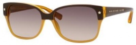 Marc By Marc Jacobs MMJ 201/S Sunglasses Sunglasses - Brown Orange