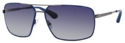 Marc By Marc Jacobs MMJ 214/P/S Sunglasses Sunglasses - Blue Dark Ruthenium