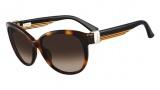 Salvatore Ferragamo SF651S Sunglasses Sunglasses - 214 Tortoise