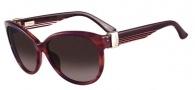 Salvatore Ferragamo SF651S Sunglasses Sunglasses - 533 Striped Purple