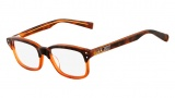 Nike 7215 Eyeglasses Eyeglasses - 230 Tortoise / Crystal Orange