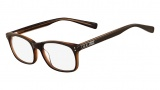 Nike 7224 Eyeglasses Eyeglasses - 200 Dark Brown / Crystal Brown