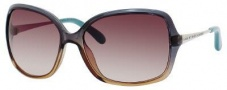 Marc By Marc Jacobs MMJ 218/S Sunglasses Sunglasses - Petroleum Brown Light Gold