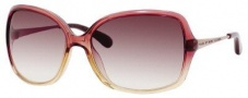 Marc By Marc Jacobs MMJ 218/S Sunglasses Sunglasses - Burgundy Beige Red