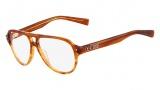 Nike 7211 Eyeglasses Eyeglasses - 250 Layered Brown
