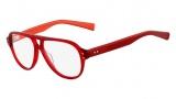 Nike 7211 Eyeglasses Eyeglasses - 620 Crystal Red / Red