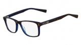 Nike 7222 Eyeglasses Eyeglasses - 230 Tortoise / Crystal Blue