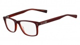 Nike 7222 Eyeglasses Eyeglasses - 600 Dark Red / Crystal Red