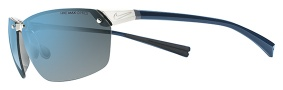 Nike Agility EV0706 Sunglasses Sunglasses - 044 Chrome / Squadron / Blue/Grey Lens