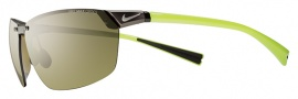 Nike Agility EV0706 Sunglasses Sunglasses - 973 Matte Gunmetal / Voltage / Outdoor Lens