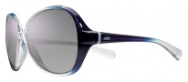 Nike Luxe EV0650 Sunglasses Sunglasses - 505 Purple Gradient / Grey with Violet flash Lens