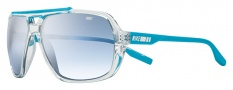 Nike MDL. 200 EV0716 Sunglasses Sunglasses - 944 Clear / Neon Turquoise / Blue Gradient Lens