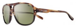 Nike MDL. 220 EV0722 Sunglasses Sunglasses - 223 Brown Tortoise / Solid Brown / Green Lens