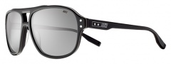 Nike MDL. 220 EV0722 Sunglasses Sunglasses - 017 Black / Grey with Silver Flash Lens