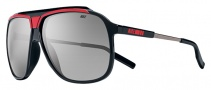 Nike MDL. 240 EV0726 Sunglasses Sunglasses - 060 Black / Hyper Red / Grey Lens
