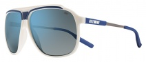 Nike MDL. 240 EV0726 Sunglasses Sunglasses - 147 Sail / Deep Royal / Grey with Blue Lens