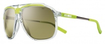 Nike MDL. 240 EV0726 Sunglasses Sunglasses - 933 Clear / Cactus / Grey with Silver Flash Lens